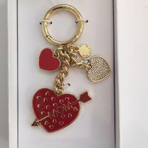 Michael Kors Mom Heart Key FOB Charm